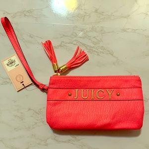 Juicy Hot Pink Wristlet